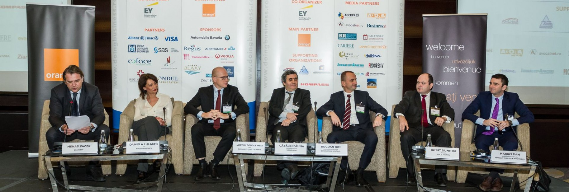 CEO Conference - Shaping the Future, Bucharest, 2015