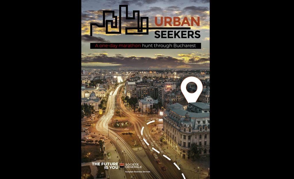 """""""Urban Seekers"""" – noua campanie de brand de angajator lansata de  Societe Generale European Business Services vine cu o provocare inedita"""