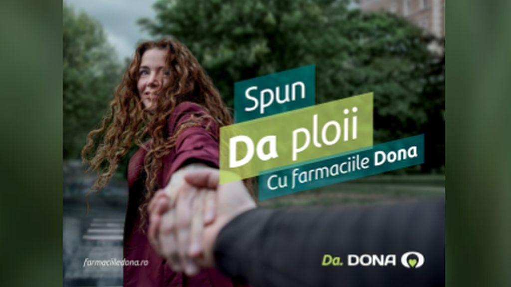 "Farmaciile Dona isi intampina in aceasta toamna pacientii cu un nou mesaj: ""Da. DONA"" - parte a celei mai noi campanii de comunicare"