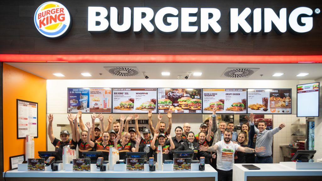 Noul Burger King din AFI Cotroceni – peste 6.000 de clienti serviti in primul weekend de la deschidere