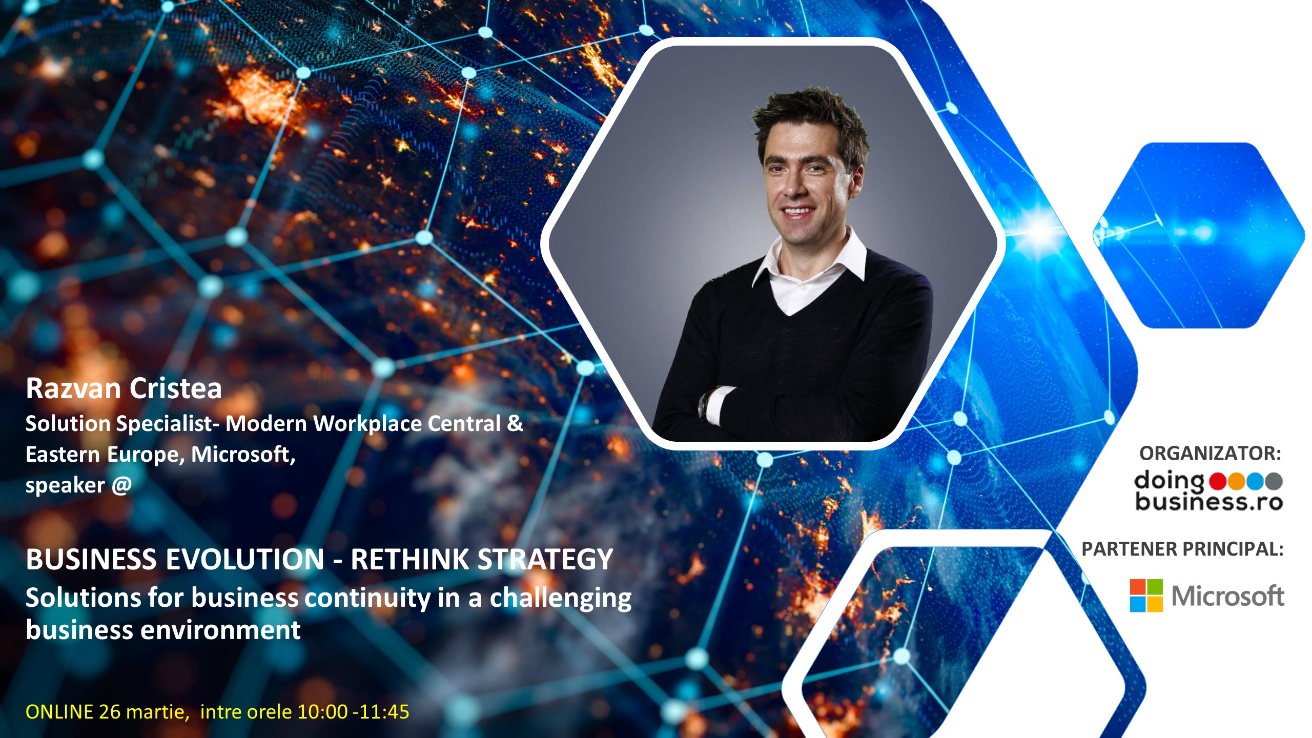 RAZVAN CRISTEA, la BUSINESS EVOLUTION, Rethink Strategy